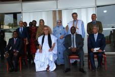 Hon. Dr. Patrick Matibini with His Excellency Mr Brahim Ghali President of Sahrawi Arab Republic