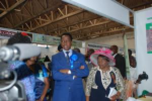 H.E Mr. President Lungu at National Assembly Stand