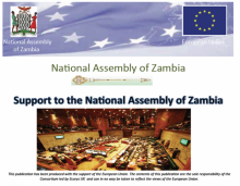 Support to the National Assembly of Zambia Project